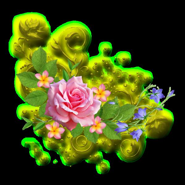 Tubes fleurs for Credence en verre transparent cuisine