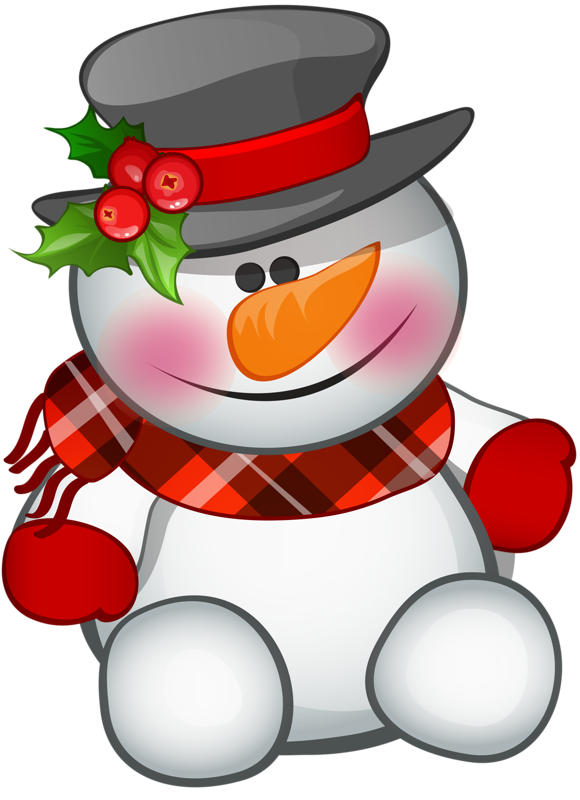 Tubes noel bonhomme de neige - Clipart bonhomme de neige ...